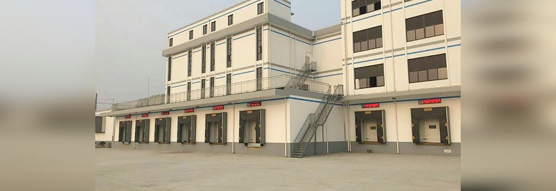 Die Warenlade und Abladesysteme von Kopron verbessern die Logistik der Universität von Shanghai.