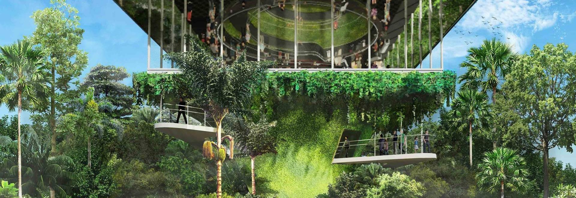 WOHA präsentiert einen üppigen, netto null Singapur-Pavillon für die Weltausstellung 2020