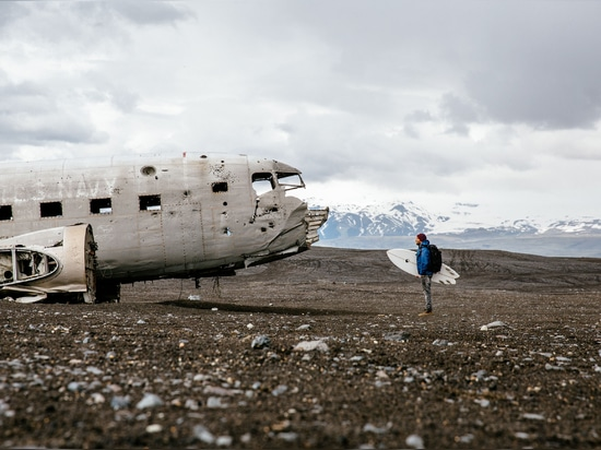 """Island. Foto durch James Bowden, """"vom großen breiten öffnen sich"""", © Gestalten 2015."""