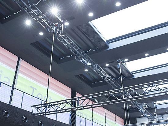 Garten 551: System für große Oberlichtvorhänge mit motore Antrieb