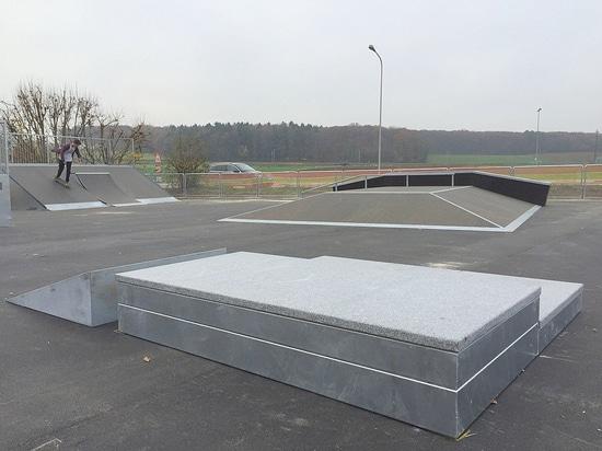 Eröffnung des Skateparks von Colovray, Nyon