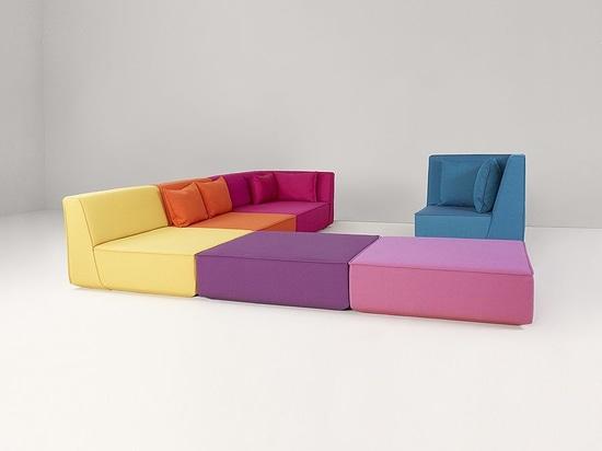 Cubit® – modulair sofasysteem Producent Cubit –