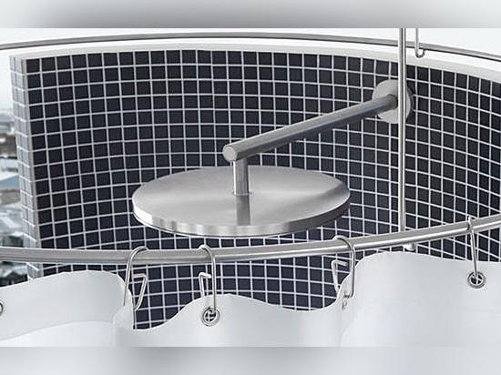Duschvorhangstangen aus Edelstahl für Dusche und Badewanne
