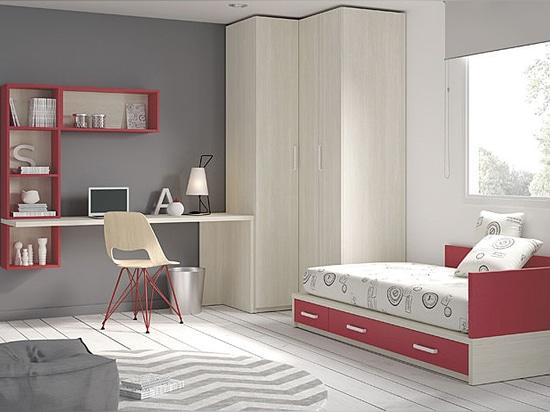 Neuer Katalog der Möbel für junge Leute