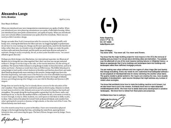 Buchstaben zum Bürgermeister, zum Schaufenster für Kunst und zur Architektur, im April 2014