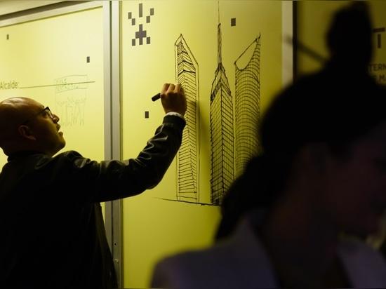 Buchstaben zum Bürgermeister: Mexiko, Mextropoli, im März 2016. Foto durch Moritz Bernoully. Bild-Höflichkeit Arquine und Schaufenster für Kunst und Architektur