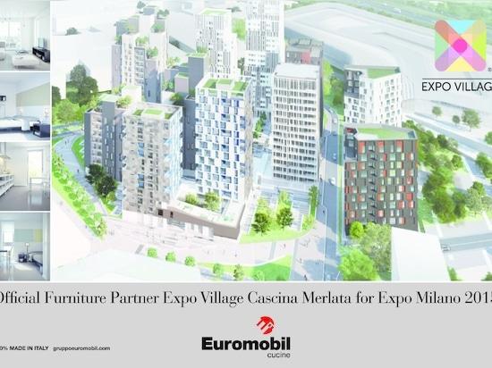 OFFICIAL FURNITURE PARTNER EXPO VILLAGE CASCINA MERLATA FOR EXPO MILANO 2015