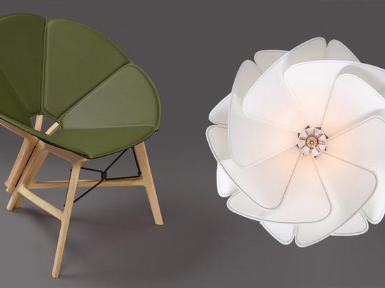 Entwerfer stellen transportfähige lederne Einrichtungsgegenstände für Louis Vuitton her