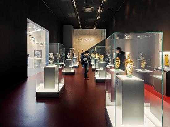 Zumtobel-Teil des Spiels am neuen DFB-Museum