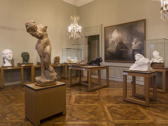 Licht als das Kernelement eines bedeutenden museographic Projektes