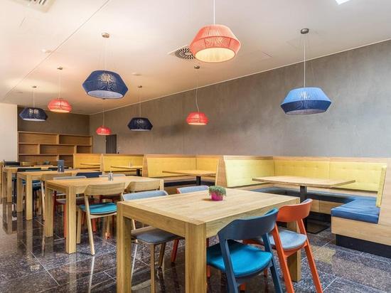Projekt-Olym-Auswahlrestaurant (Samorín, Slowakei)