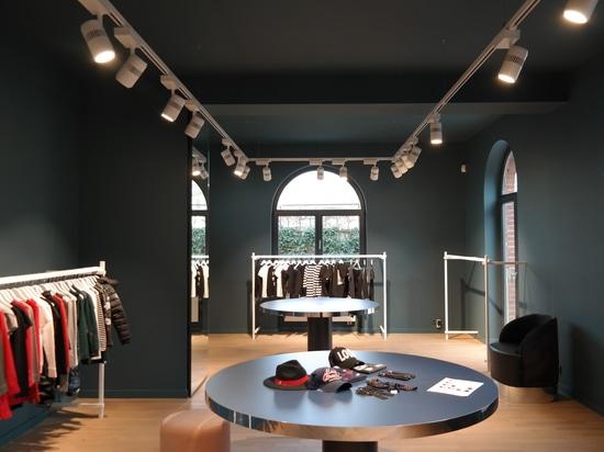 Der Ausstellungsraum an den Dusseldorf-Hauptsitzen