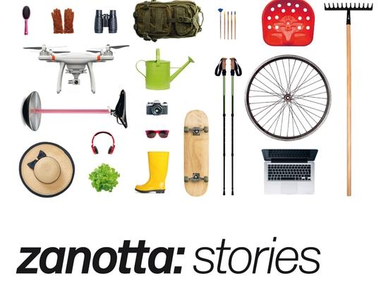 Tecno stellt Zanotta-Geschichten dar