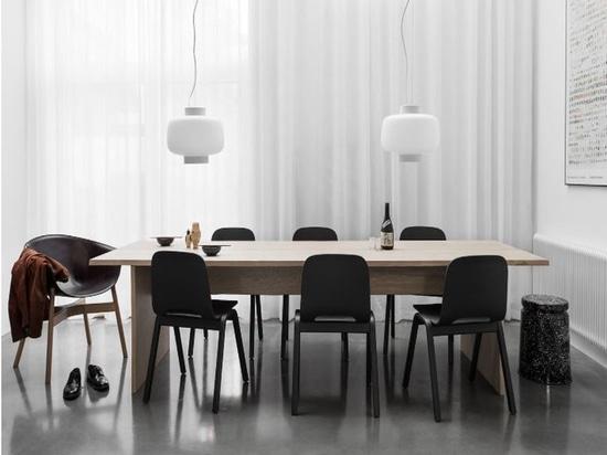 Bookmatch-Tabelle ist Philippe Malouins erstes Produkt für Rand. Höflichkeit des Designers.