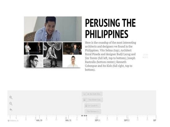 In der Zeit: Durchlesen der philippinischen Inseln