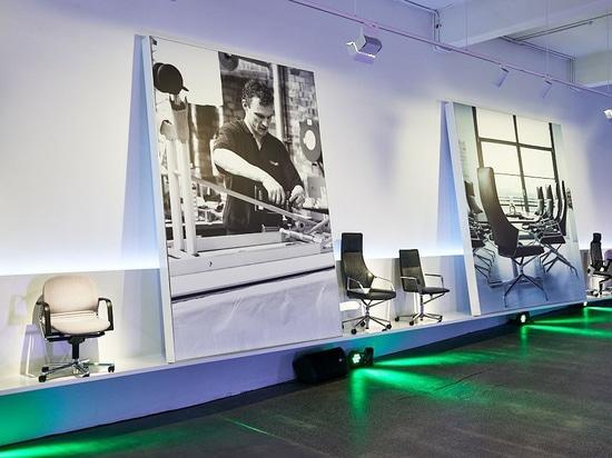 Wilkhahn-Ausstellungsraum in Syndey