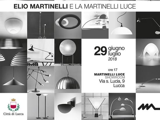 Die Ausstellung eingeweiht Elio Martinelli-Bewegungen von Mailand nach Lucca