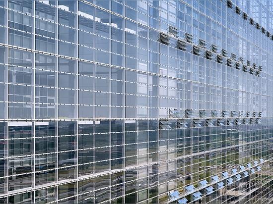 Baumwollstoff nouvel eröffnet neues Europäisches Patentamt in den Niederlanden