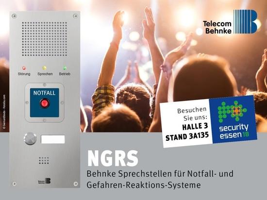 Telecom Behnke GmbH auf der Security Essen 2018