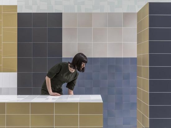 Mosa führt Wandgemälde ein, Wandfliesen zu fixieren