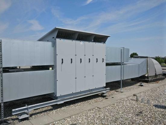 Die erste Installation des ALPHAS 85 XL in Europa