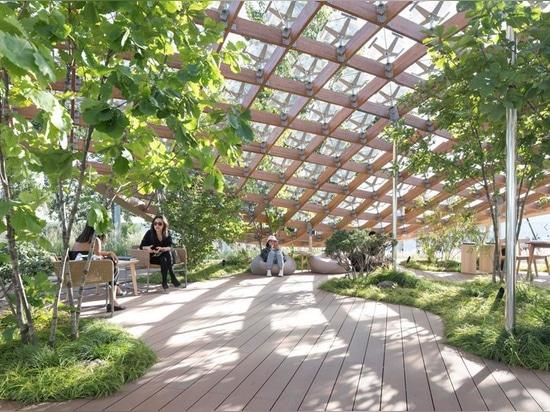 WÜTEND schlägt 'lebenden Garten' so nach Hause der Zukunft an Porzellanhausvision 2018 vor