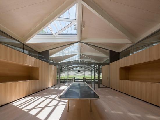 das nouveau Chai ist ein neues Gebäude für die Produktion des roten und weißen Weins