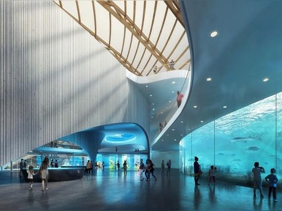 Ennead entwirft neues Naturreservat und allgemeines Aquarium in China