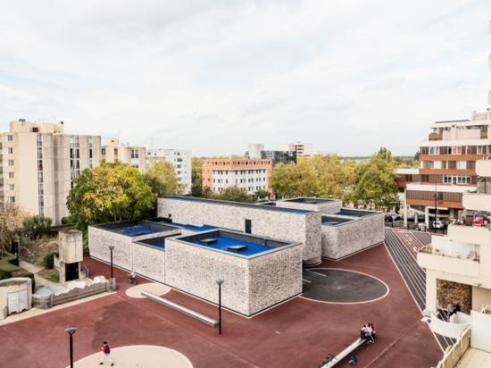Musikschule Elancourt von OPUS 5 Architekten