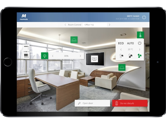 MIDITEC Raumautomation - Das innovative Büro
