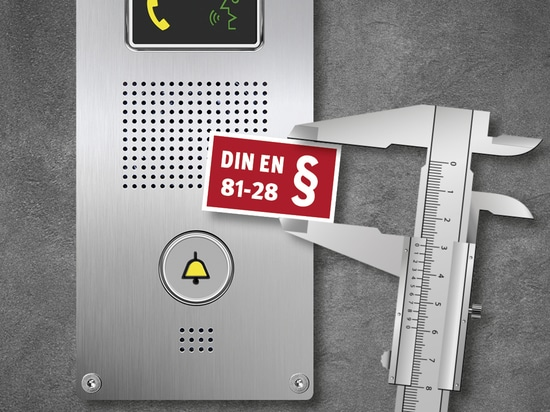Normkonformes Aufzugnotruftelefon