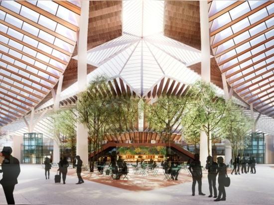 Jeanne Gang-led Studio ORD gewinnt neues globales Terminal beim O'Hare-Wettbewerb