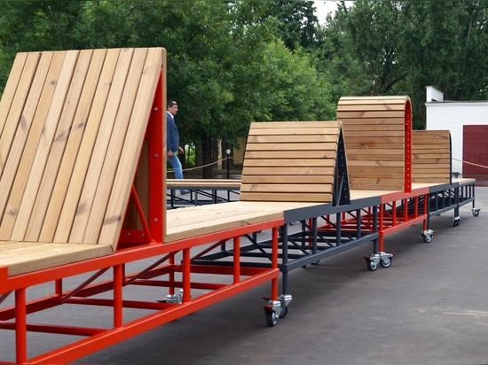 Der Handwerkspark im VDNKh, Moskau