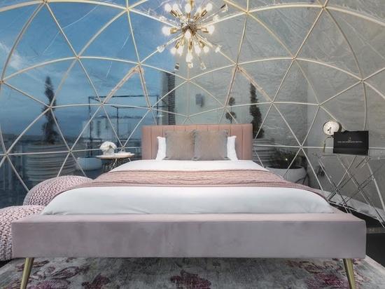 Jetzt können Sie in einer Dachkuppel im Watergate Hotel überblicken