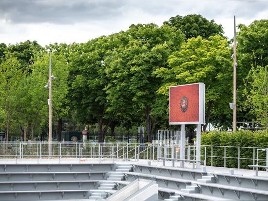 Aubrilam stattet die Roland Garros Seite aus!