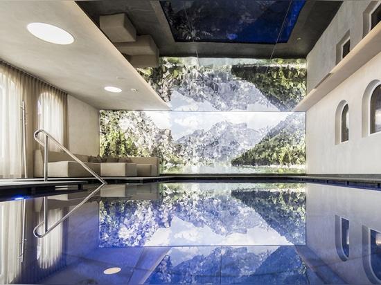 Hotel Hubertus ... zwischen Himmel und Erde schwebend