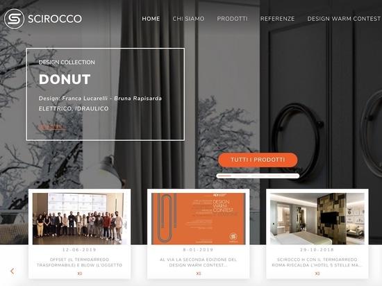 Scirocco H neue Website