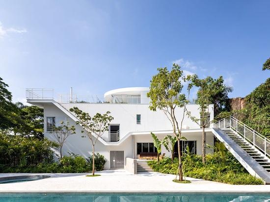 Casa M in Sao Paulo ist ein Projekt zur perfekten Restaurierung