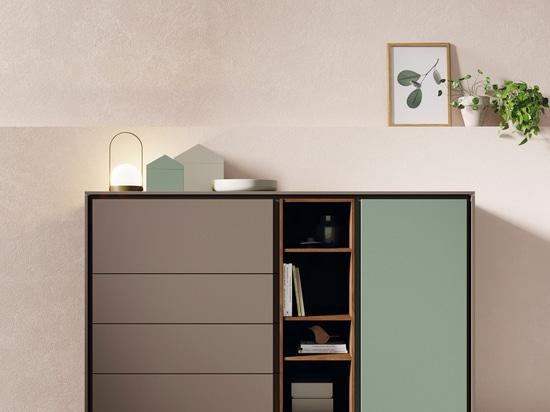 Ein modulares System zur komfortablen Raumgestaltung.
