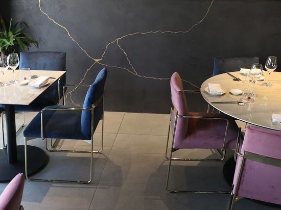 NIWA RESTAURANT: TACTILE SURFACES AND LIGHT CONJURE UP SPECIAL MOODS