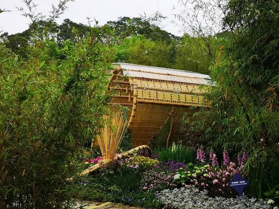 Bambus-Gezeiten-Pavillon / Shenzhen Beryll Umweltkunst Design