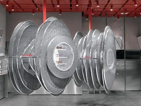 roomoo erzeugt Schallwellen für jeden Sonnenbrillenladen in Shanghai