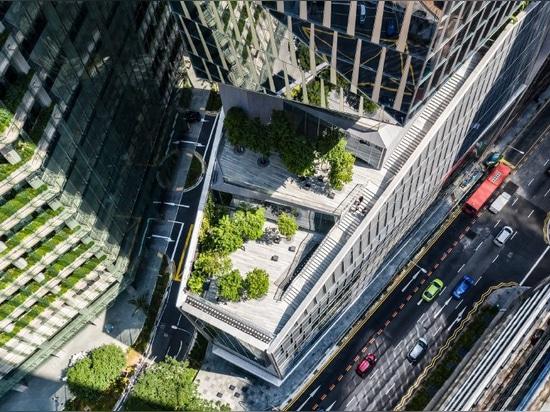 """Der von der KPF entworfene Turm in Singapur fördert den """"nachhaltigen Städtebau"""""""