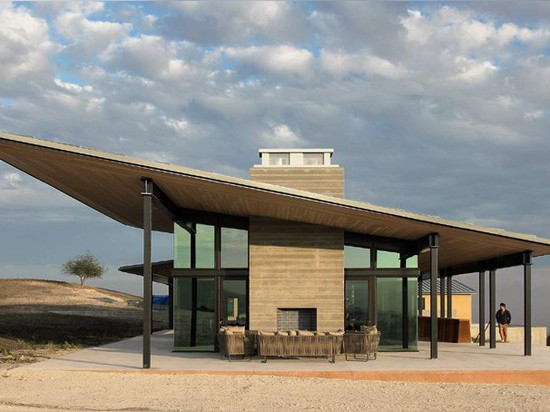 STAB Architekten entwerfen die Gesetz-Weinkellerei in Kalifornien
