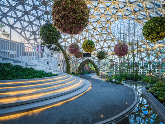 Shanghai Garden, die Beijing Horticultural Exhibition 2019 / Arcplus Architectural Decoration & Landscape Design Research Institute (Forschungsinstitut)