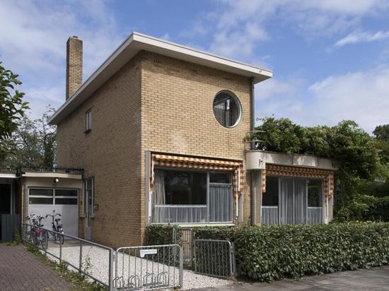 Das modernistische Haus von Sybold Ravesteyn in Utrecht öffnet für die Öffentlichkeit