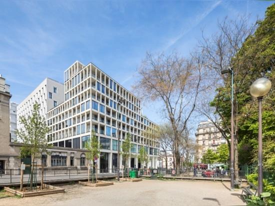 Clichy-Batignolles Öko-Distrikt in Paris