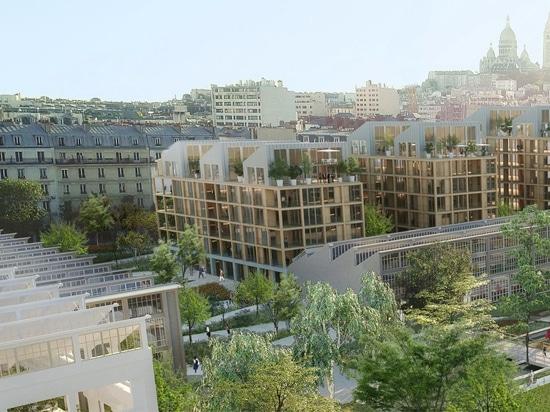 SLA und Biecher Architectes gewinnen mit Jardin Mécano den Wettbewerb zur Umgestaltung des alten Zentralbahnhofs
