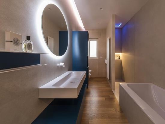 Ritmonio's Diametro 35 White für eine helle Wohnung im Herzen von Corato (BA)