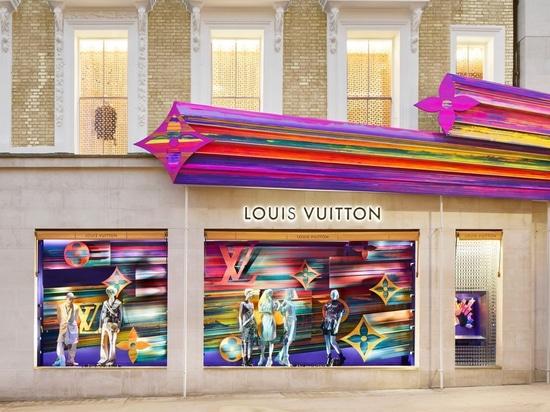 Peter Marino kanalisiert Glück für die Renovierung des Louis Vuitton Stores im Westen Londons